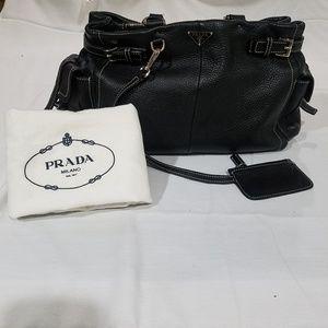 Prada Leather Shoulder Bag Mint Condition